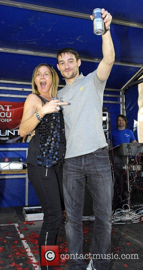 Carol McGiffin and her husband Mark Cassidy The...