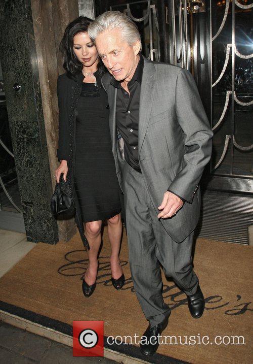 Catherine Zeta Jones and Michael Douglas 8