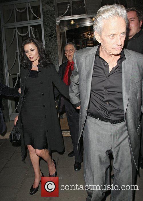 Catherine Zeta Jones and Michael Douglas 5