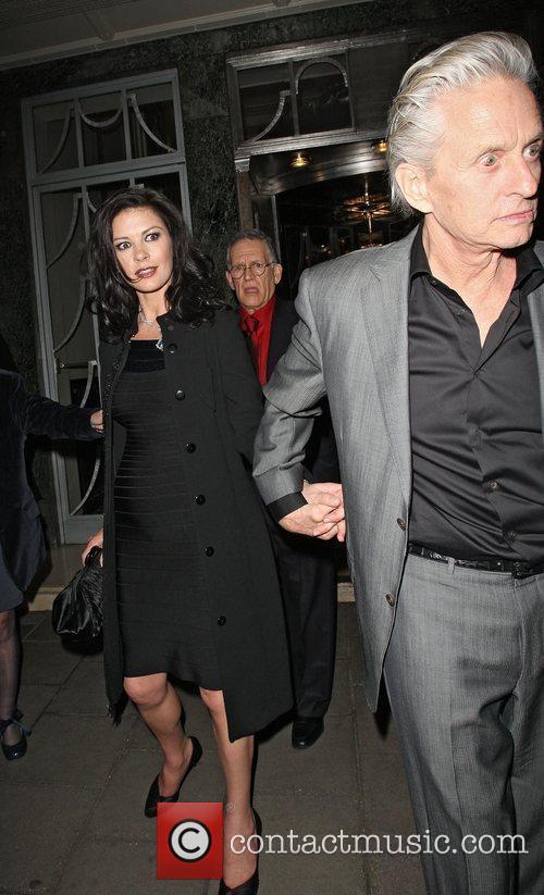 Catherine Zeta Jones and Michael Douglas 3