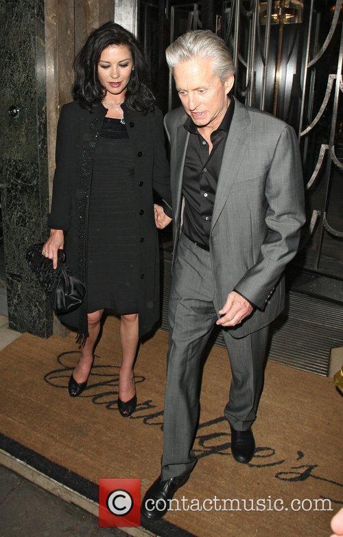 Catherine Zeta Jones and Michael Douglas 10