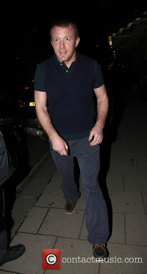 Guy Ritchie outside Claridge's Hotel London, England -...