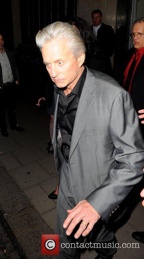 Michael Douglas outside Claridge's Hotel in London London,...