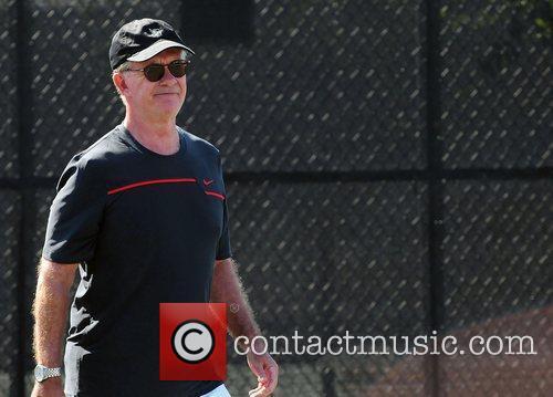 Alan Thicke The Chris Evert/Raymond James Pro-Celebrity Tennis...