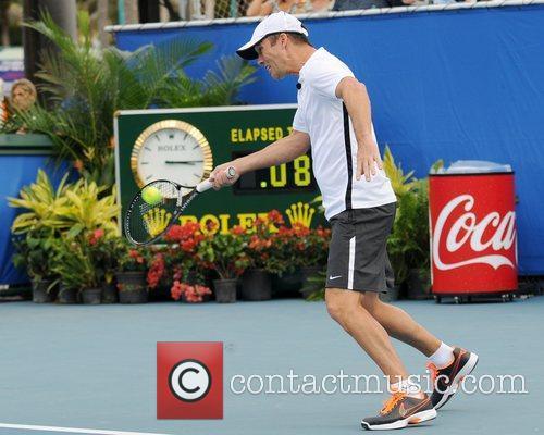 Jeffrey Donovan The Chris Evert/Raymond James Pro-Celebrity Tennis...