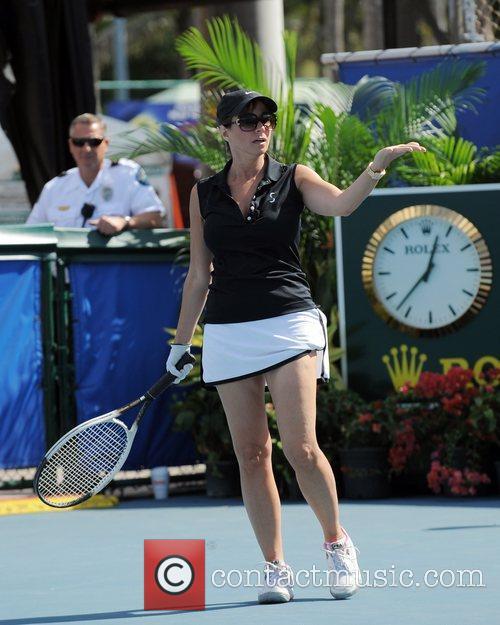 Jill Zarin The Chris Evert/Raymond James Pro-Celebrity Tennis...