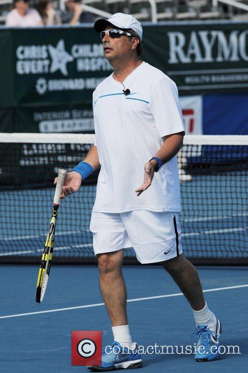 Jon Lovitz The Chris Evert/Raymond James Pro-Celebrity Tennis...