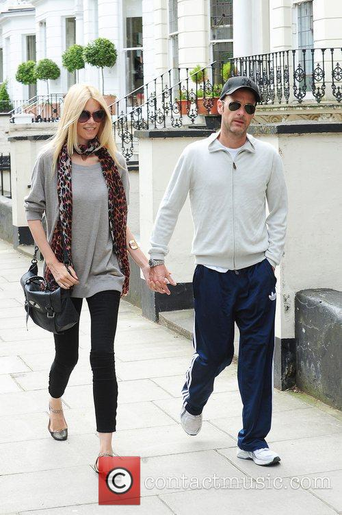 Claudia Schiffer, Matthew Vaughn and Notting Hill 6