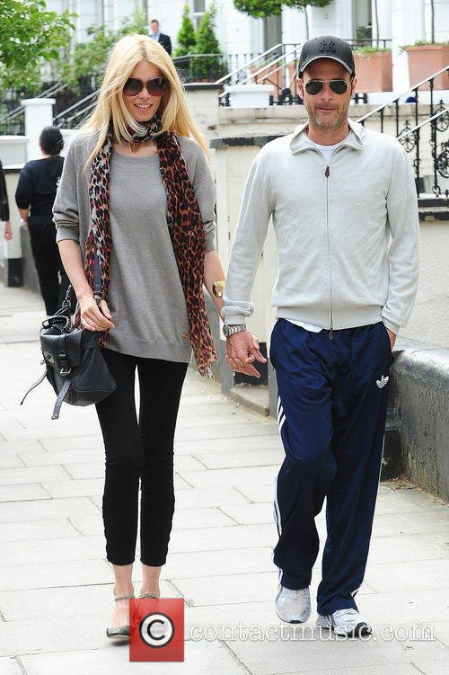 Claudia Schiffer, Matthew Vaughn and Notting Hill 2