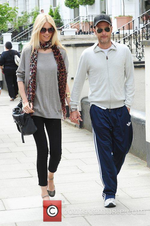 Claudia Schiffer, Matthew Vaughn and Notting Hill 5