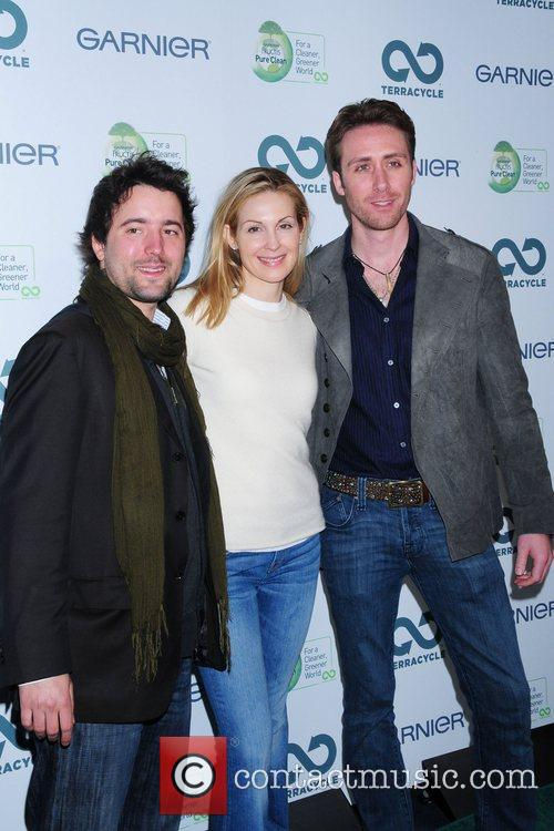 Tom Szaky, Kelly Rutherford and Philippe Cousteau Garnier...