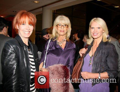 Fiona Mollison, Francoise Boubil and Anneke Rice at...