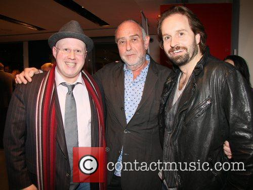 Matt Lucas, Claude-Michel Schonberg, Alfie Boe at the...