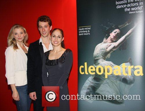 Natalie Dormer, Eddie Redmayne, Martha Leebolt (Cleopatra) at...