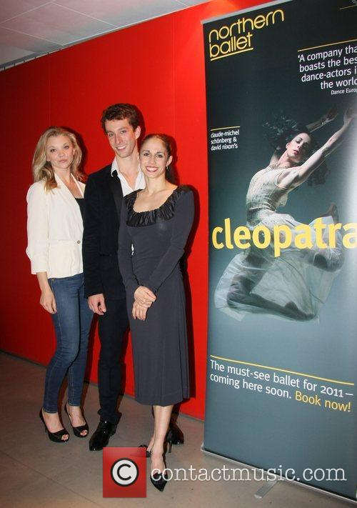 At the Northern Ballet's press night of 'Cleopatra'...