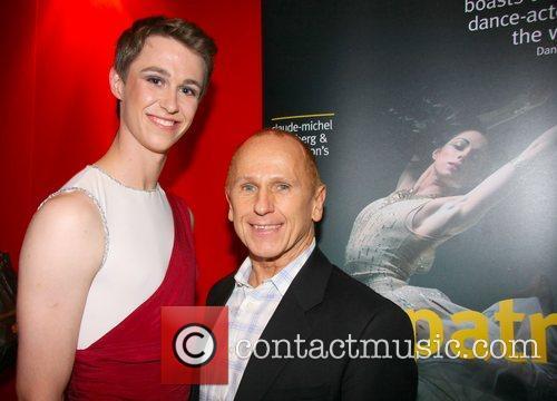 Wayne Sleep (R) at the Northern Ballet's press...