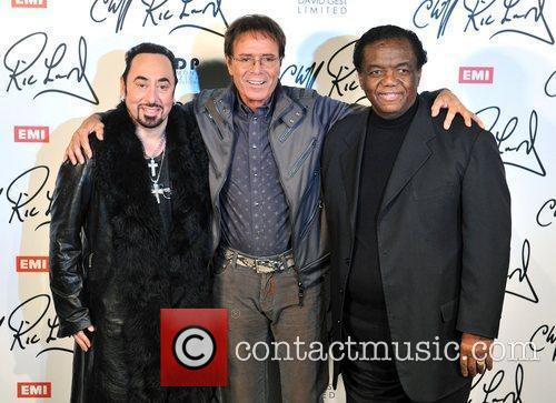 Cliff Richard and David Gest 2