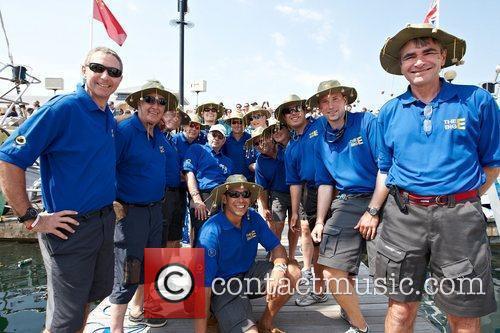 Crew of Clipper Geraldton Clipper Round The World...