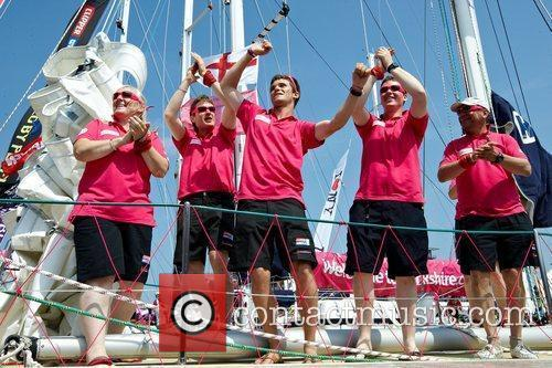 Crew of Welcome to Yorkshire Clipper Round The...