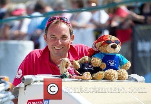 Mark Light, skipper of Derry-Londonderry Clipper Round The...