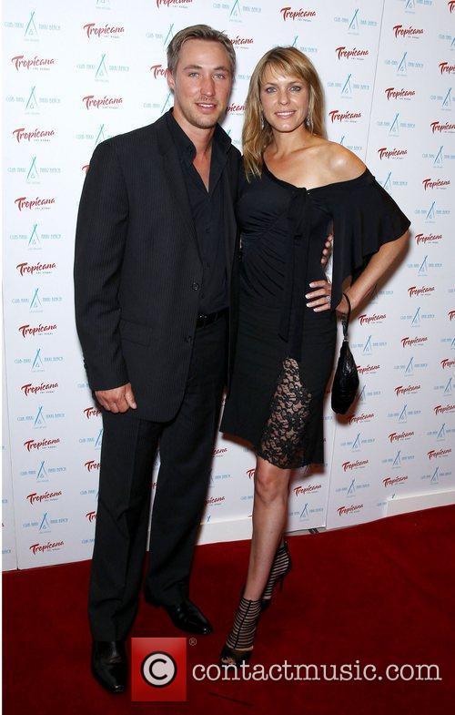 Kyle Lowder, Arianne Zucker Club Nikki at Tropicana...