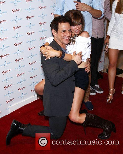 Christian LeBlanc and Molly Burnett Club Nikki at...