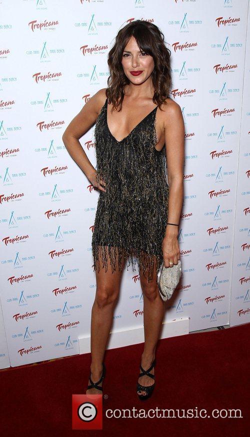 Elizabeth Hendrickson Club Nikki at Tropicana Las Vegas...