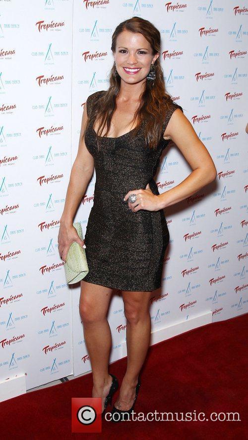 Melissa Claire Egan Club Nikki at Tropicana Las...