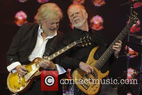 Randy Bachman and Fred Turner  perform on...
