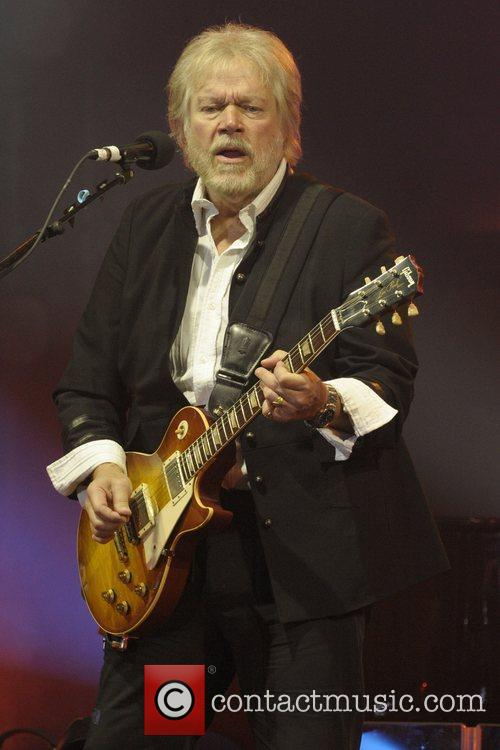 Randy Bachman  performs on stage at the...