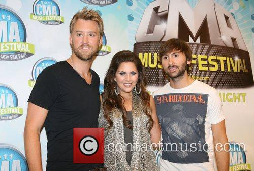 Lady Antebellum CMA Festival press conference held at...