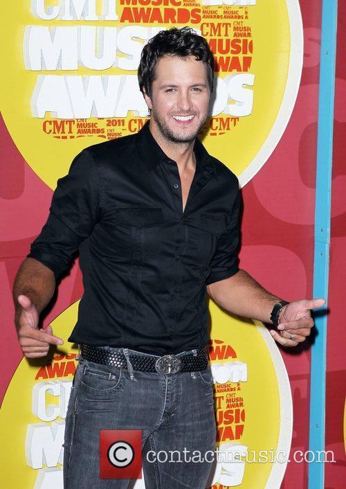Luke Bryan 2011 CMT Music Awards at The...