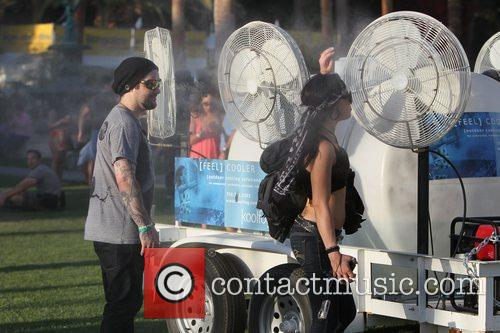 Bam Margera and guest Celebrities at the 2011...