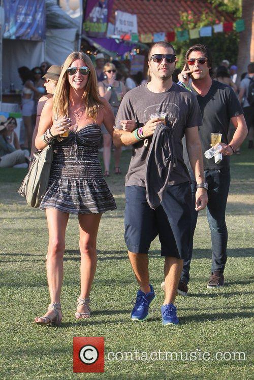 Nicky Hilton, David Katzenberg and Brandon Davis Celebrities...