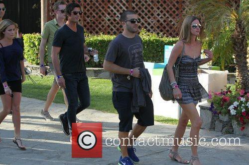 David Katzenberg and Nicky Hilton Celebrities at the...