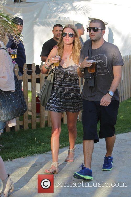 Nicky Hilton and David Katzenberg  Celebrities at...