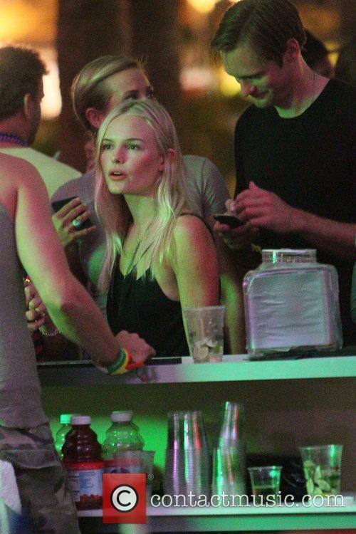Kate Bosworth and Alexander Skarsgard Celebrities at the...
