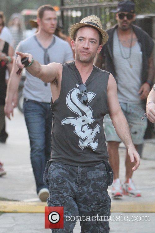 David Faustino Celebrities at the 2011 Coachella Valley...