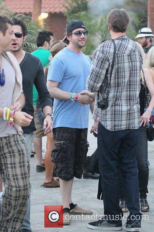 Jamie Kennedy Celebrities at the 2011 Coachella Valley...