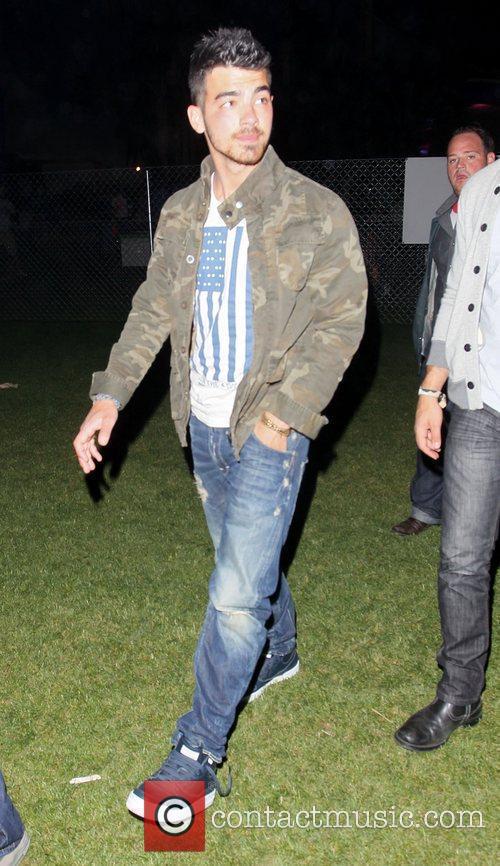 Joe Jonas Celebrities at the 2011 Coachella Valley...
