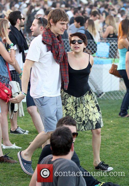Landon Pigg Celebrities at the 2011 Coachella Valley...