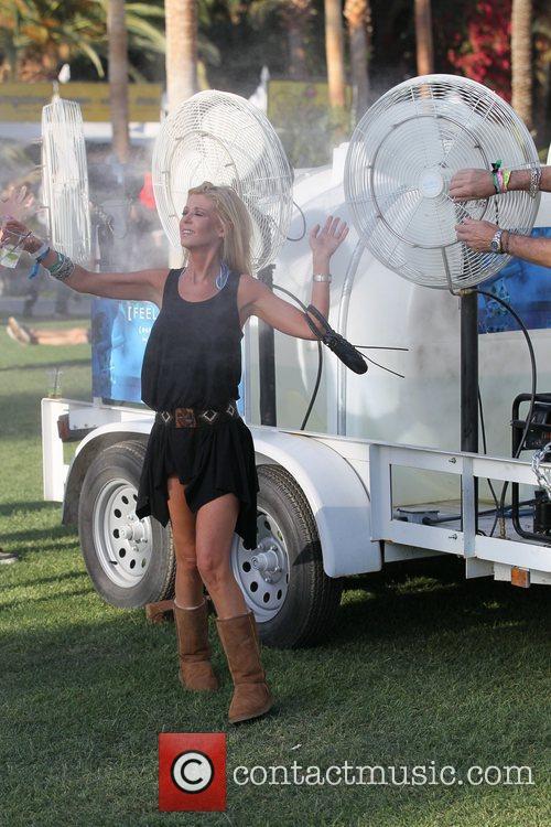 Tara Reid  Celebrities at the 2011 Coachella...