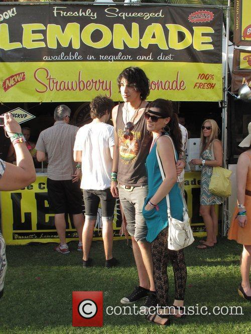 Nick Simmons  Celebrities at the 2011 Coachella...