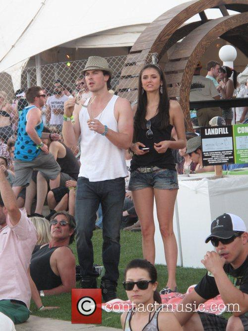 Tom Welling Celebrities at the 2011 Coachella Valley...