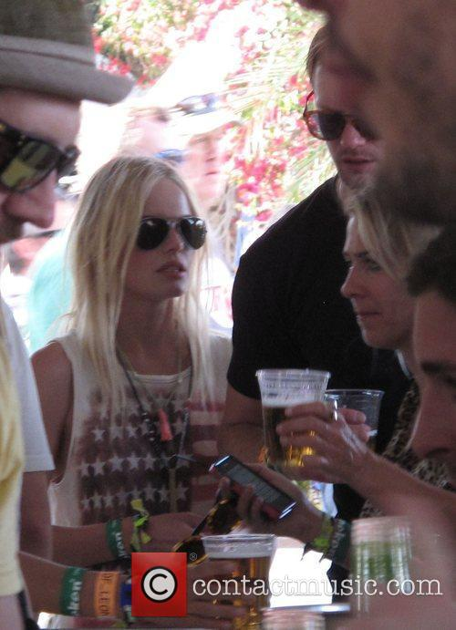 Kate Bosworth  Celebrities at the 2011 Coachella...