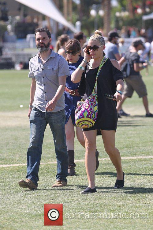 Busy Philipps Celebrities at the 2011 Coachella Valley...