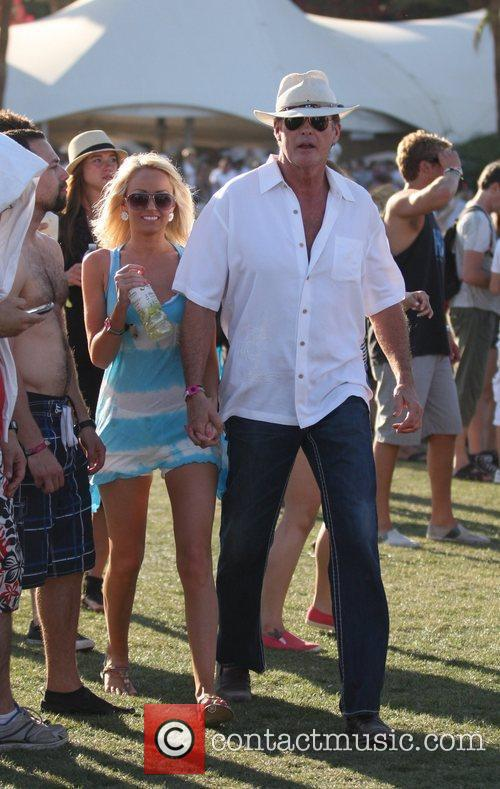 Celebrities at the 2011 Coachella Valley Music and...