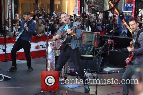 Chris Martin and Rockefeller Plaza 4