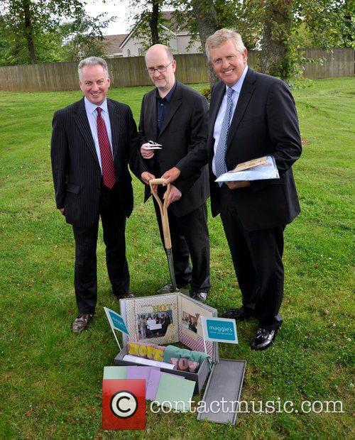 Colin Montgomerie buries golfing memorabilia in a time...