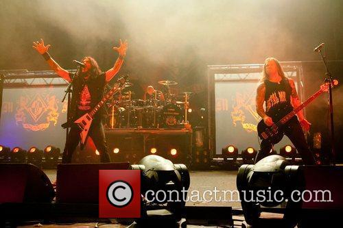 machine head performing live at coliseu dos 3616070